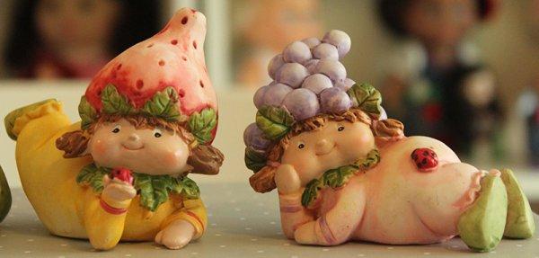 Bébés lutins fruits ♥