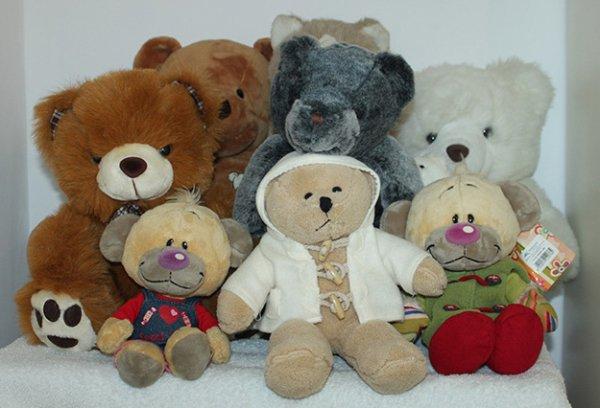 Ma famille d'ours en pleuche ! ♥
