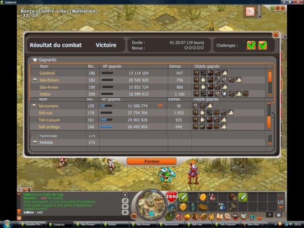 Obsidiantre 180% de gains challenges (capture)
