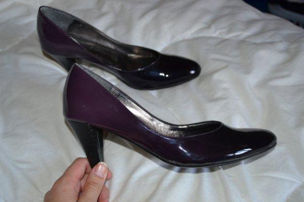 escarpins violet