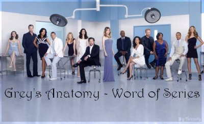 Bienvenue sur Grey's Anatomy - Word of Series