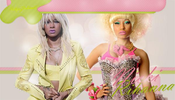 RobynZolanski, ta source sur Rihanna Fenty & Nicki Minaj
