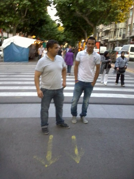 Taourirt & Berkane dans  Barcelone.....