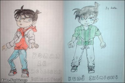 Conan, Shinichi (from DC), dessins