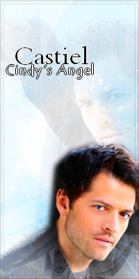 Castiel, Supernatural (Misha Collins) - Avatar by me (c)