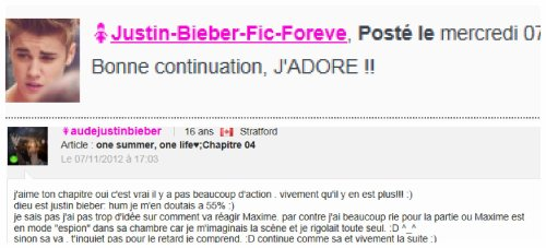 One Summer, One Life♥; chapitre 05