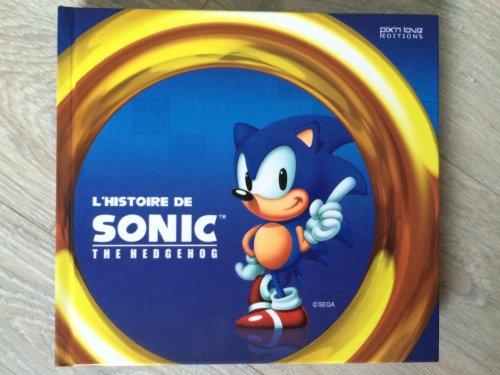 Livre: L'histoire de Sonic The Hedgehog (Pix'n Love édition)