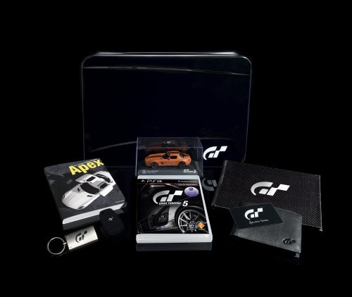 Découverte: Gran Turismo 5 Edition collector (PS3)