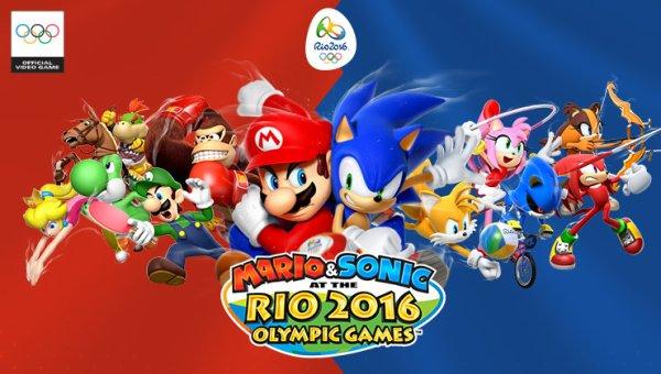 Test: Mario & Sonic aux Jeux Olympiques de Rio 2016 (3DS)