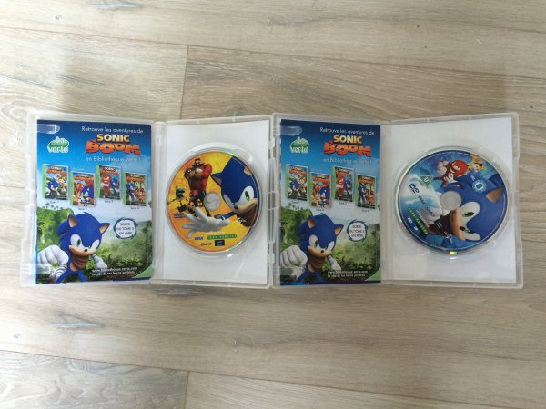 Unboxing: DVD Sonic Boom (volume 1 et 2)