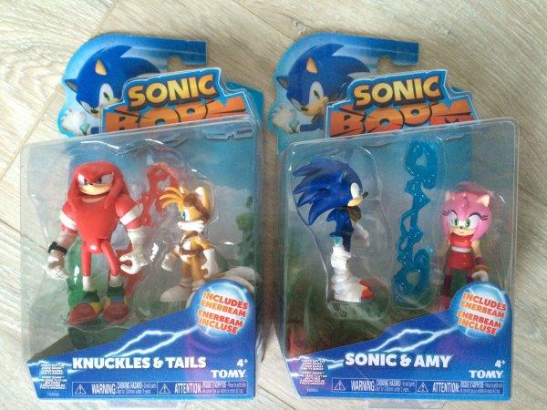 Produits dérivés: figurines Sonic Boom