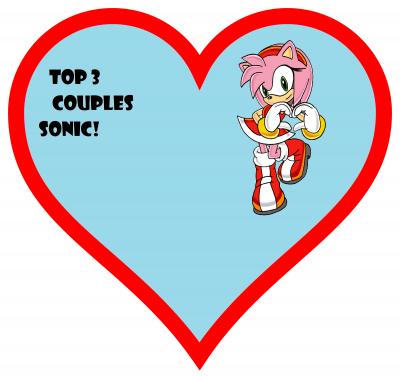 Mon top 3 des couples du monde de Sonic!