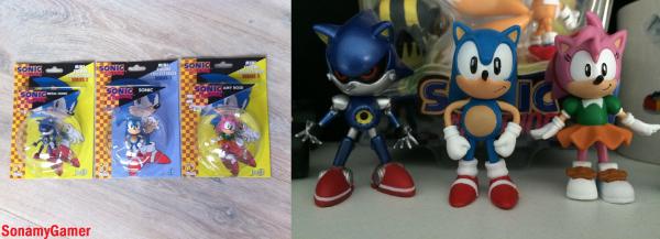 Produits dérivés: figurines Sonic The Hedgehog (classic)
