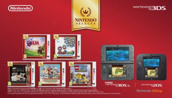 News: Nintendo annonce 5 jeux 3DS Nintendo Select pour juin 2016!