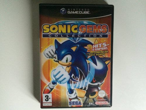 Moment retrogaming: Sonic Gems Collection (GameCube)