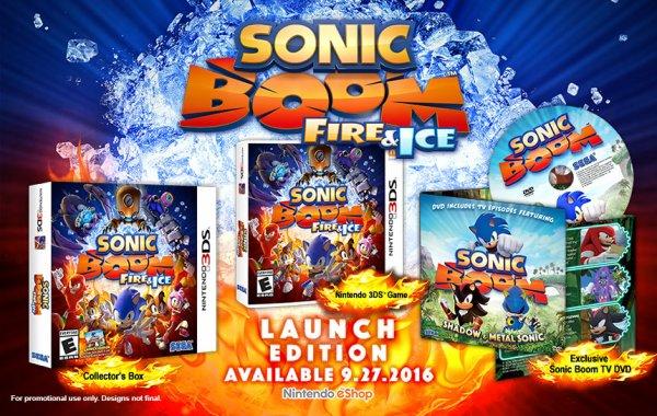 News: Des nouvelles du Sonic Boom Fire & Ice!