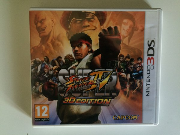 Test: Super Street Fighter IV (3DS)