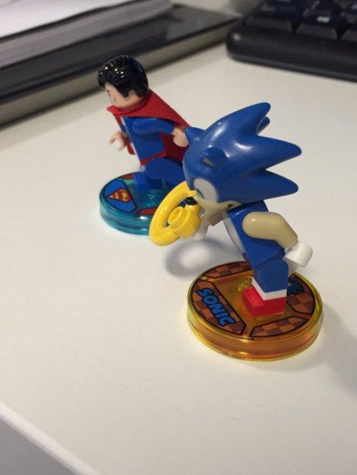 News: Une image de Sonic en Lego Dimensions fuité!