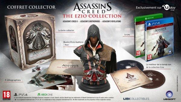 News: Assassin's Creed The Ezio Collection annoncé pour le 17 novembre 2016!