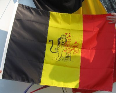 Future drapeau Belge