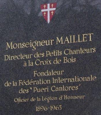 """Messe """"anniversaire"""" de la mort de Mgr MAILLET"""
