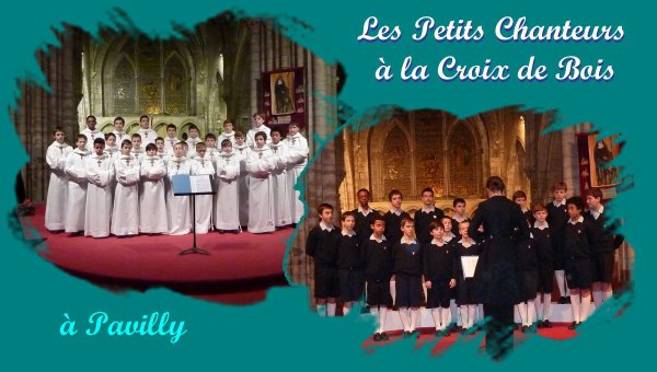 Les Petits Chanteurs à la Croix de Bois sont venus chez nous à Pavilly!