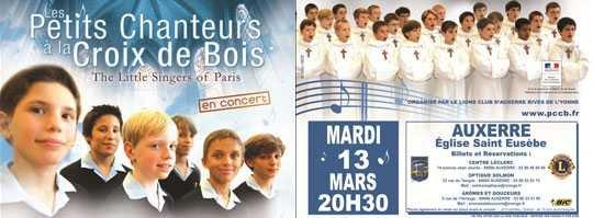 CONCERT ISOLE A l'Eglise Saint Eusèbe d'Auxerre le mardi 13 mars à 20h30