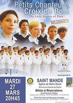 CONCERT ISOLE PCCB LE 27/03/2012 A SAINT-MANDE (94)