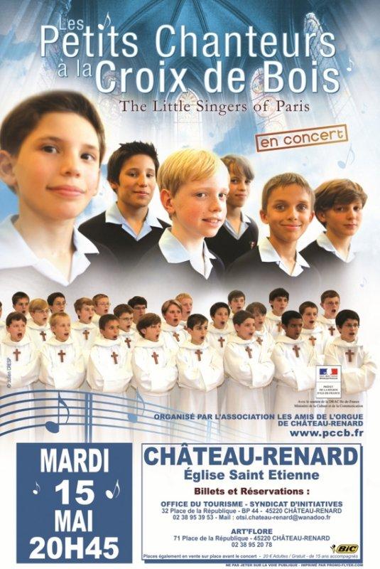 CONCERT ISOLE PCCB LE 15/05/2012 A CHATEAU-RENARD (45)