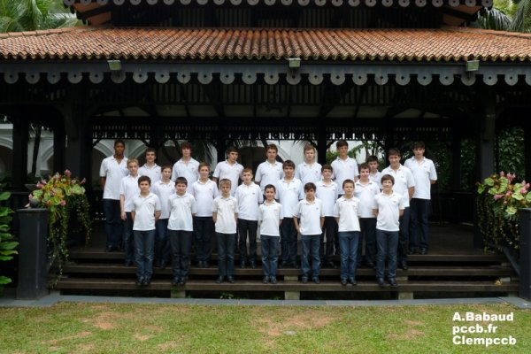 PHOTOS TOURNEE PCCB SINGAPOURE/CHINE 2012