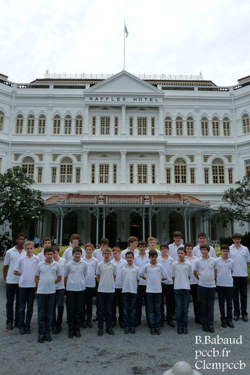 TOURNEE PCCB SINGAPOUR/CHINE 2012