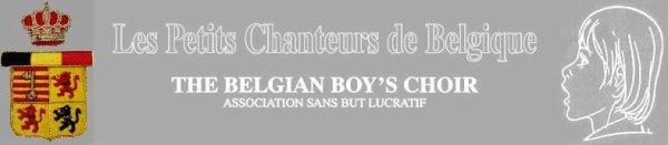 """""""LES PETITS CHANTEURS DE BELGIQUE"""""""
