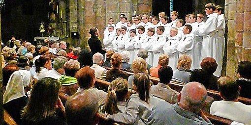 Langogne - Les Petits Chanteurs à la Croix de Bois ont donné un concert à l'église