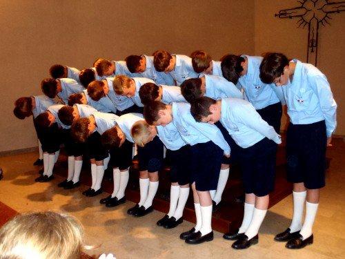 Les Petits Chanteurs à la Croix de Bois à GAGNIERES...