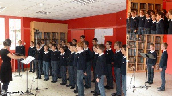 Les Petits Chanteurs à la Croix de Bois bientôt chez Drucker...
