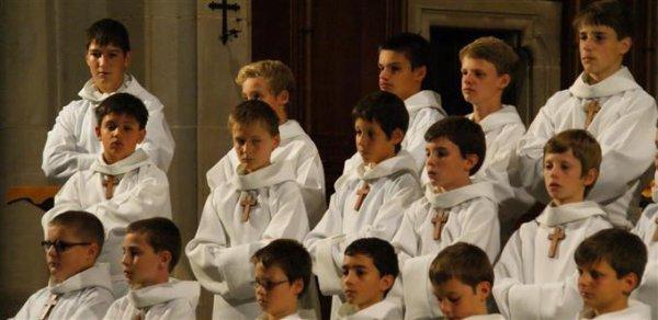 Les Petits Chanteurs à la Croix de Bois ont fait étape à Cernay...
