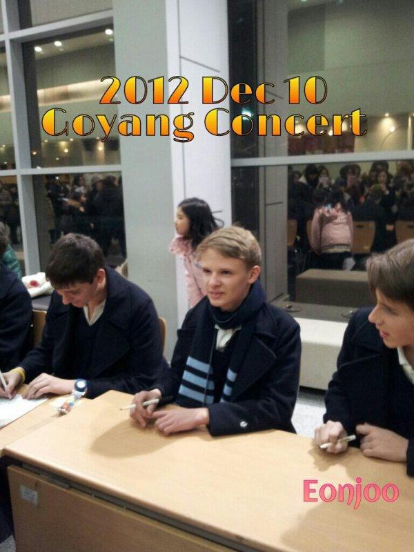 CONCERT PCCB COREE 2012 10/12/12 GOYANG - 08/12/12 YONGIN