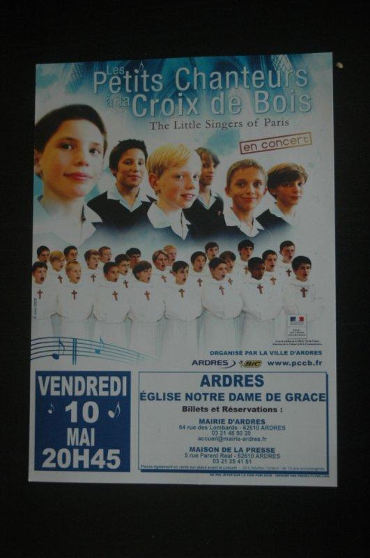 Les Petits Chanteurs à la Croix de Bois à Ardres (62)