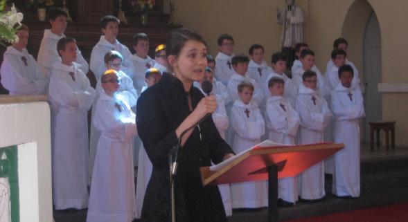 Ablain-Saint-Nazaire: avec les Petits Chanteurs à la Croix de Bois, un concert choral de légende...
