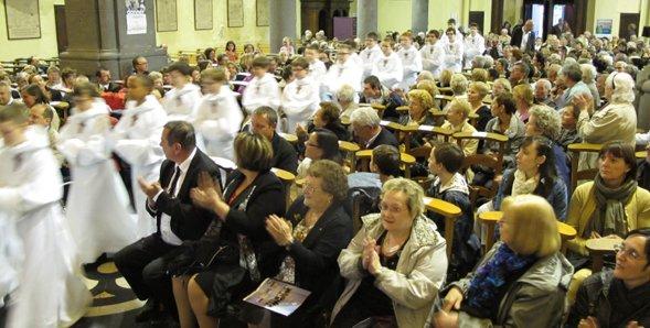 Petits Chanteurs à la Croix de Boix : à Denain, concert gratuit et public remboursé...