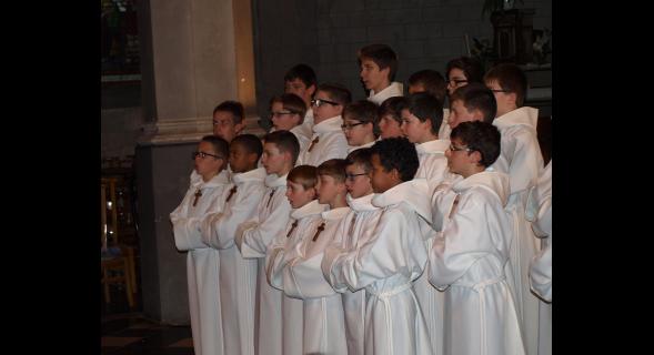 Succès à l'église d'Ardres pour la chorale des Petits chanteurs à la Croix de Bois...