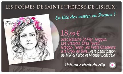"""ALBUM """"Sainte Thérèse"""" NUMERO 1 En FRANCE!!!"""