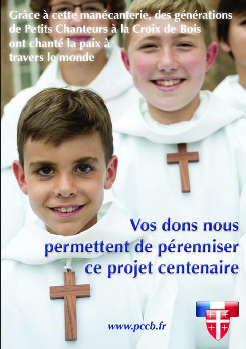 Dernière rentrée scolaire pour les Petits Chanteurs à la Croix de Bois?