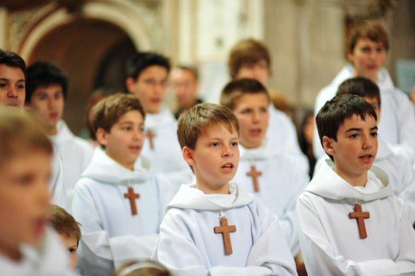 Les Petits Chanteurs à la Croix de Bois à Autun ?