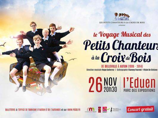 Le concert gratuit des Petits Chanteurs à la Croix de Bois le 26 novembre
