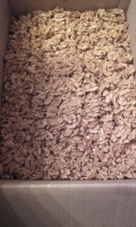 Triage de noix a domicile