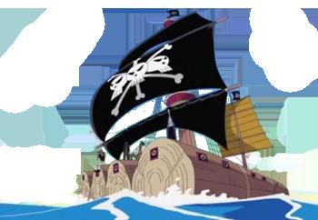 le navire de barbe noire