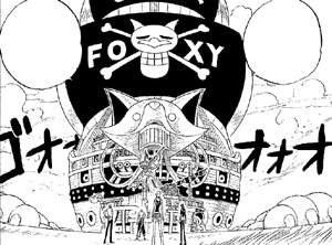 le navire de foxy