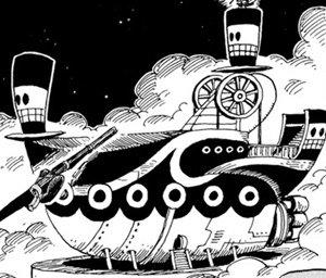 le navire des pirates de léspace