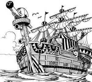 le navire de baggy